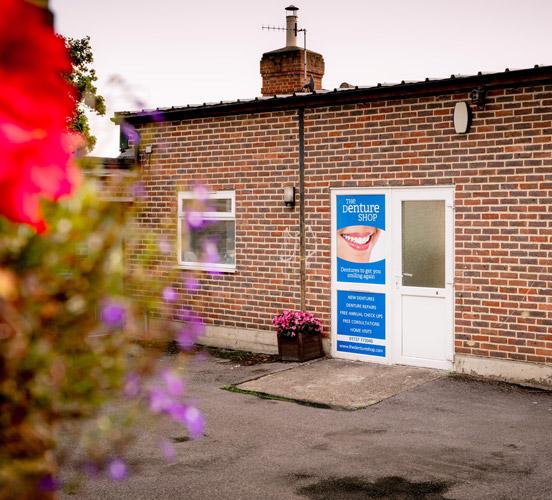 Outside Redhill Denture Shop RH1 6PA