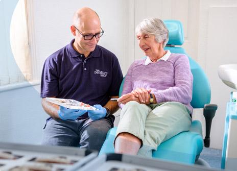 New dentures consultation