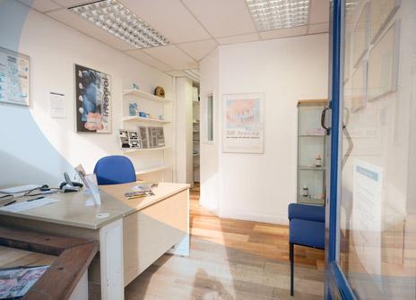 inside horley denture shop