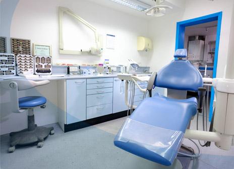 inside worthing denture shop