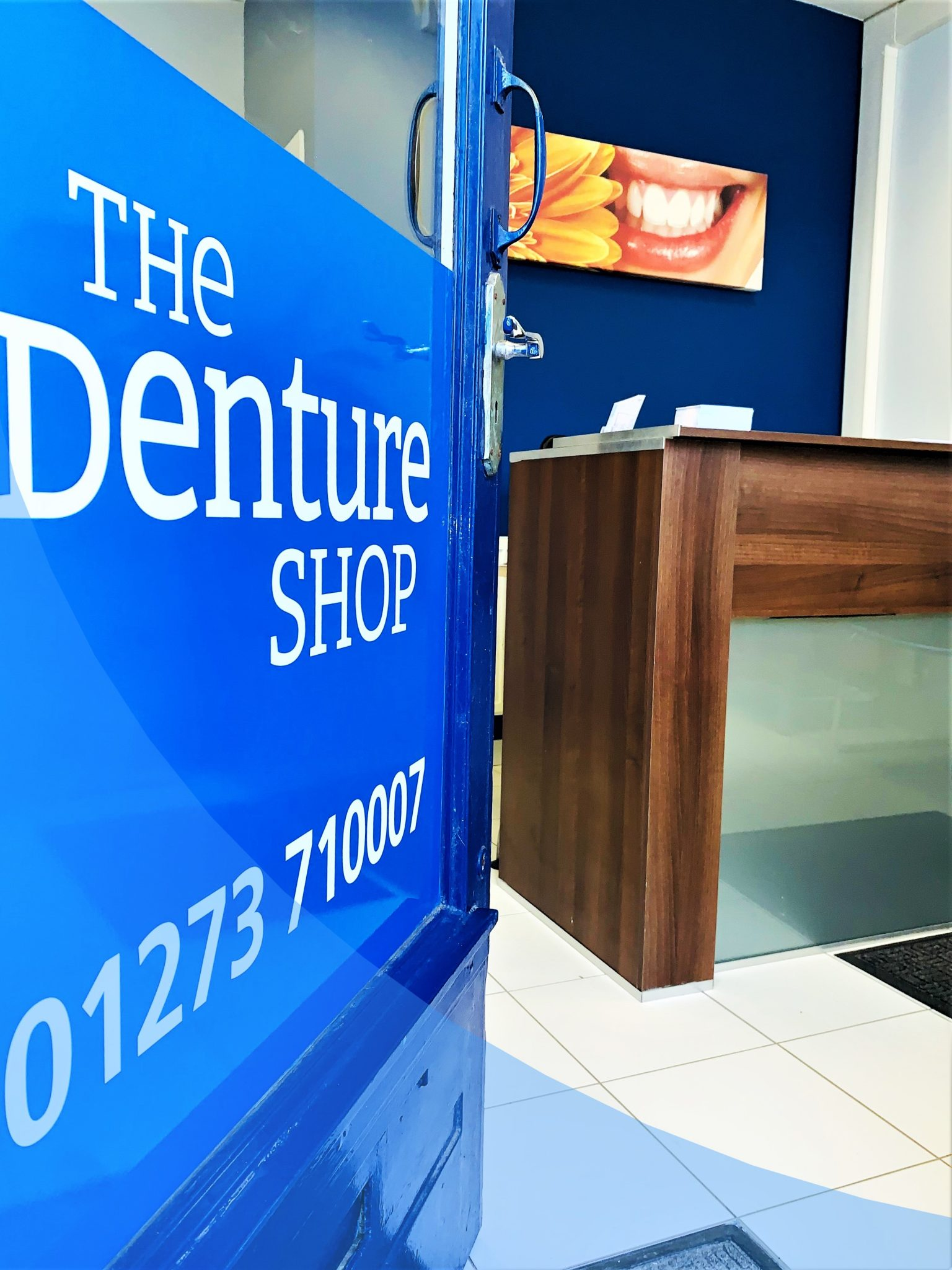 inside hove denture shop